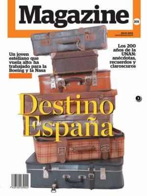 Portada Revista Magazine 201