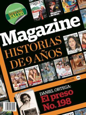 Portada Revista Magazine 218