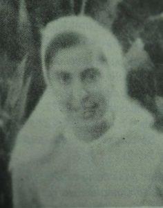 1974. A los 23 años, de novicia en el convento de las monjas de La Asunción.