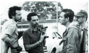 Joaquín Cuadra, Carlos Núñez Téllez, Walter Ferreti y Rolando Cabrera