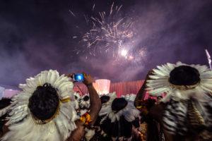 Más de dos mil indígenas de 23 países jugaron