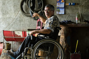 Andrés Moreno, Heridas de guerras