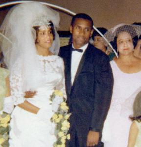 Vera Zabala y Roberto Clemente se casaron