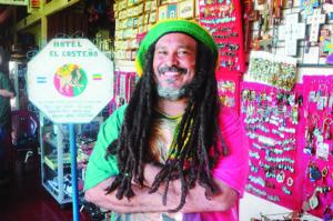 Osberto Jerez pertenece al grupo de Rastafaris.El movimiento Rastafari en Nicaragua ciuenta con varias corrientes.Masaya 13 de septiembre del 2013
