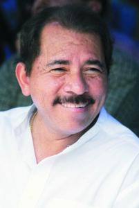 Daniel Ortega, en el acto de inauguración del palacio Municipal de ciudad Sandino. foto: LA PRENSA / Manuel Esquivel