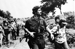 """William Ramírez, comandante guerrillero, organizó a """"Las Liebres"""" y los """"Caza Perros"""", bajo órdenes del comandante Walter Ferreti"""