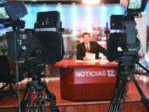 Cid Largaespada presentó Noticias 12 durante diez años