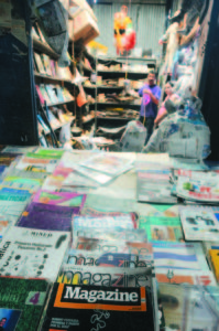 Vida en el oriental, libros