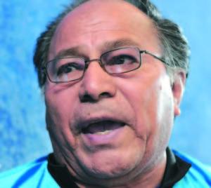 Managua 20 de marzo de 2013. Guillermo Polvorita Martinez entrevistado para reportaje Muerte en el Ring de Magazine. Carlos Herrera / La Prensa