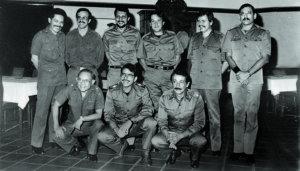 Los nueve comandantes del FSLN