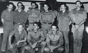 Los nueve comandantes