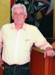 Managua 18 de Abril del 2013. Víctor Tirado López, ex-miembro de la Dirección Nacional del FSLN, habla en su casa de Los Robles. Uriel Molina/LA PRENSA