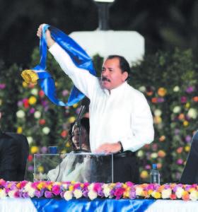 Toma de posesión de Daniel Ortega. Managua 10 de enero 2012. Foto LA PRENSA/ Bismarck Picado