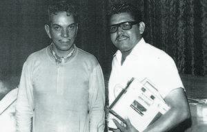 """Mario Moreno """"Cantinflas"""" y Hugo Hernández"""