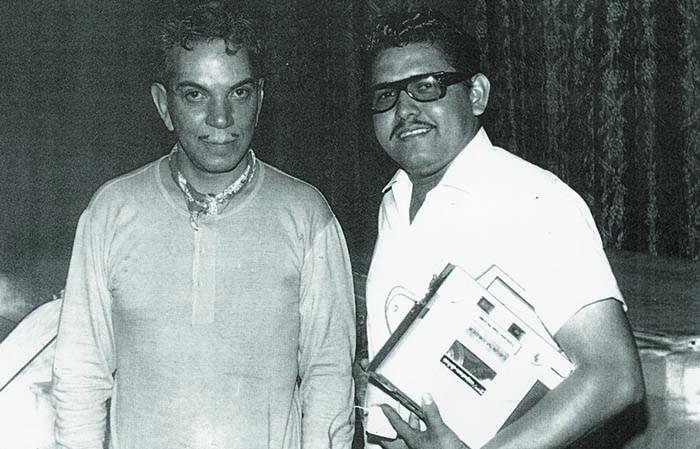 Mario Moreno Cantinflas y Hugo Hernández