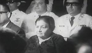 Doña Angélica Pastora Gutiérrez Bendaña, madre de René Schick.