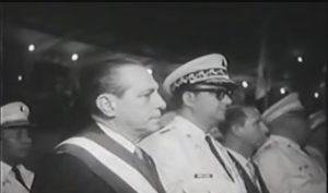El primero de mayo de 1963 René Schick recibió la banda presidencial de Luis Somoza Debayle.