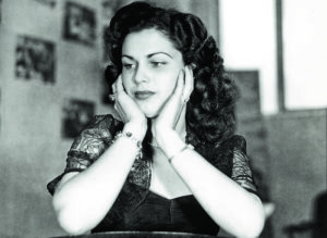 Bertha Zambrano, La Gacela, novia de Anastasio Somoza Debayle.