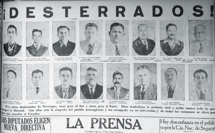 Confinados a Corn Island en julio del 44