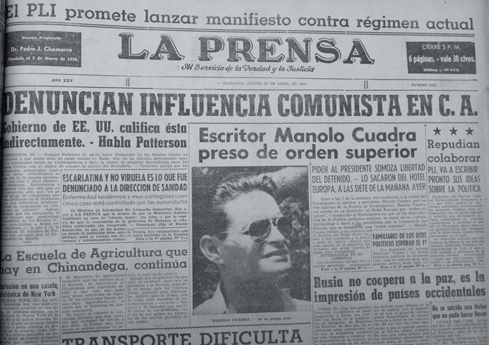 Manolo Cuadra,poeta y periodista granadino, fue el primer confinado