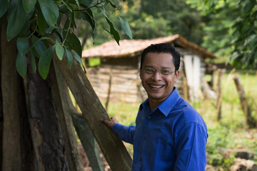 Kelvin Maradiaga, volcán Casita, sobreviviente
