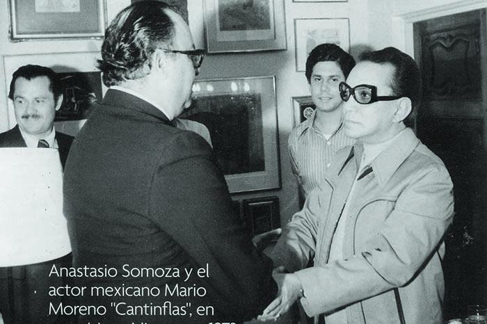 Somoza y Cantinflas en 1973