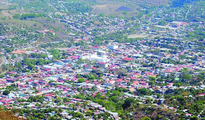 Matagalpa desde la cima de Apante