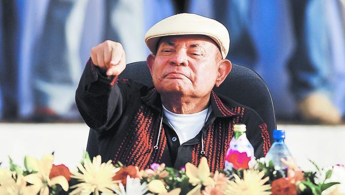 Tomás Borge, embajador de Nicaragua en Perú.