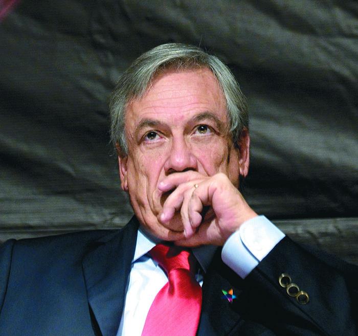 Sebastián Piñera, presidente de Chile AFP PHOTO/Claudio Santana