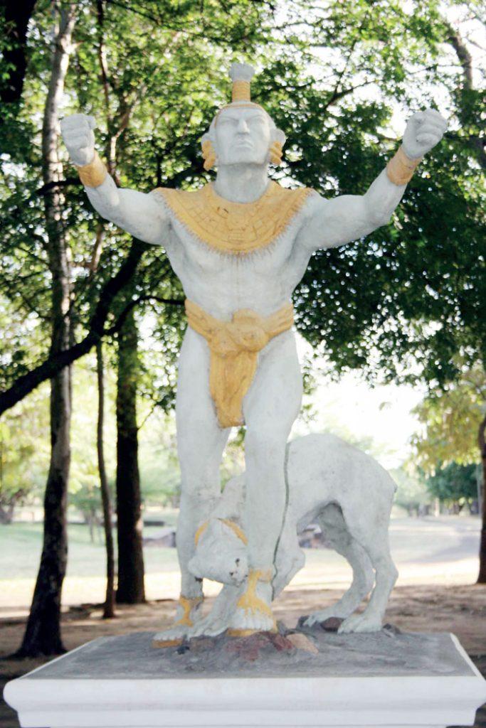 monumento a 18 caciques