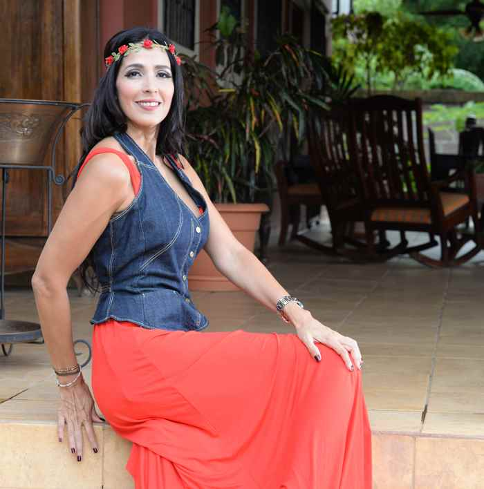 Luisa Amalia Urcuyo. Miss Nicaragua 1994. Posa en su casa. LA PRENSA /Uriel Molina
