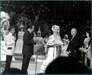 Beatriz Obregón Lacayo en su presentación de Traje Nacional en Miss Universo 1977. Foto: LA PRENSA/ Cortesía.