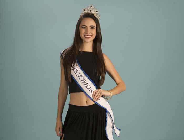 Marina Jacoby. Miss Nicaragua 2016 posa en estudio para Rajatabla Magazine.Foto Uriel Molina/LA PRENSA