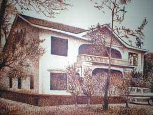 Quinta Eitzen, una propiedad que Anastasio Somoza García le confiscoó al alemán Ulrich Eitzen