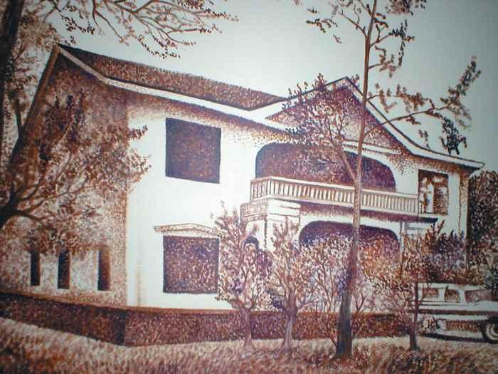 Quinta Eitzen, una propiedad que Anastasio Somoza García le confiscó al alemán Ulrich Eitzen. Magazine