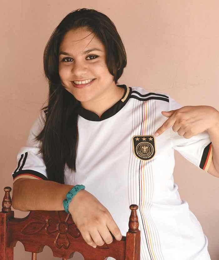 Xiomara Martinez, se prepara a viajar al mundial de Brasil 2014.Uriel Molina/LA PRENSA