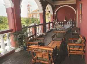 Managua, Nicaragua. 12/Noviembre/2013. Casa mas Antigua de Granada. Jorge Torres/ LA PRENSA.