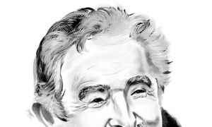 José Mujica. ILUSTRACIÓN: LUIS GONZÁLEZ/ LA PRENSA