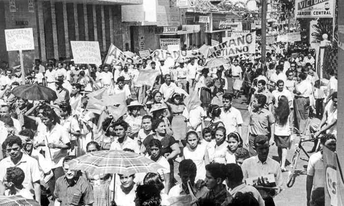 Manifestación del 22 de enero de 1967