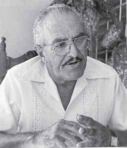 A mediados de los años 90, Argelio Córdoba todavía dirigía equipos de beisbol.