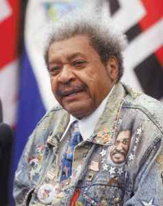 Don King. gocio de los puños. Magazine