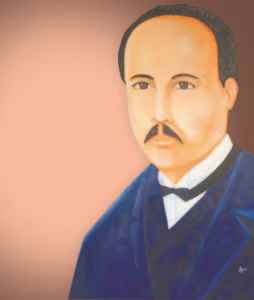 José Zacarías Guerra , retrato se conserva en el Hogar Zacarías Guerra