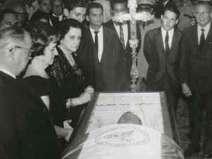 (foto de archivo) Funerales de Luis Somoza, noviembre 2 de 03. LA PRENSA