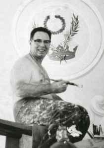 Juan Fuchs, pintor del famoso diablo