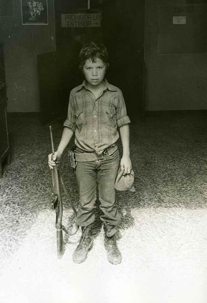 """A sus 12 años de edad, """"Cristóbal"""" contaba con una tremenda experiencia bélica"""