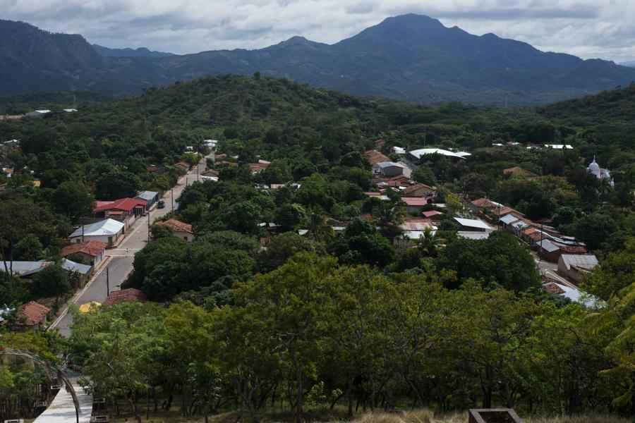 Vista del pueblo segoviano de Mozonte en la actualidad.