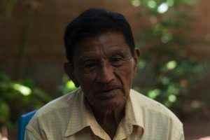 Tomás Florían, de 75 años, habitante de Mozonte, escuchó a su padre hablar de Anastasio Hernández.