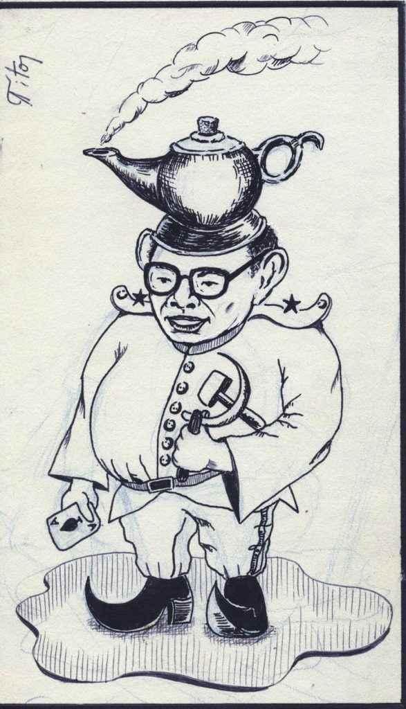 Esta fue la caricatura que se publicó debajo de la denuncia de Joaquín Mejía.