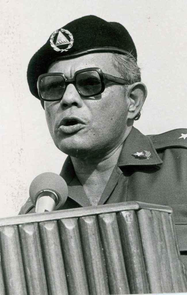 Tomás Borge Martínez, fue temido durante el primer régimen sandinista (1979-1990) cuando dirigió el Ministerio del Interior.