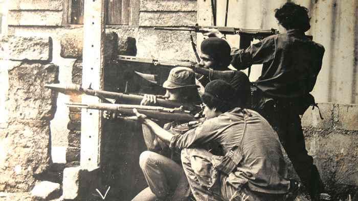 En la Guerra Nacional, en la insurrección sandinista
